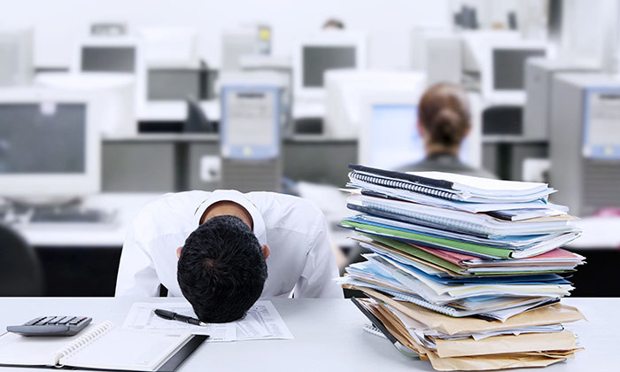Singaporean office workers are least productive