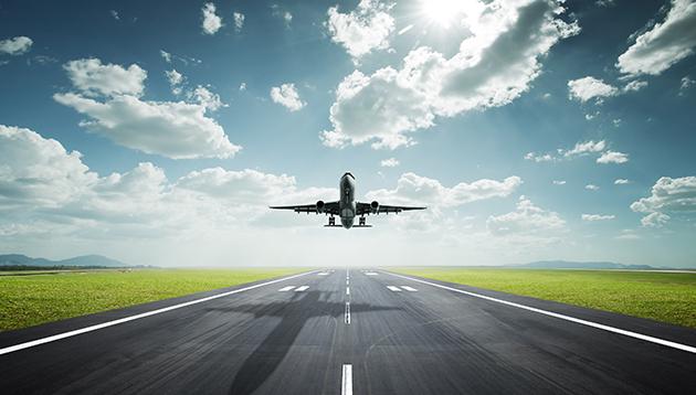 Plane taking off, hr