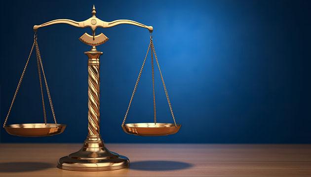 Libra scale judgement