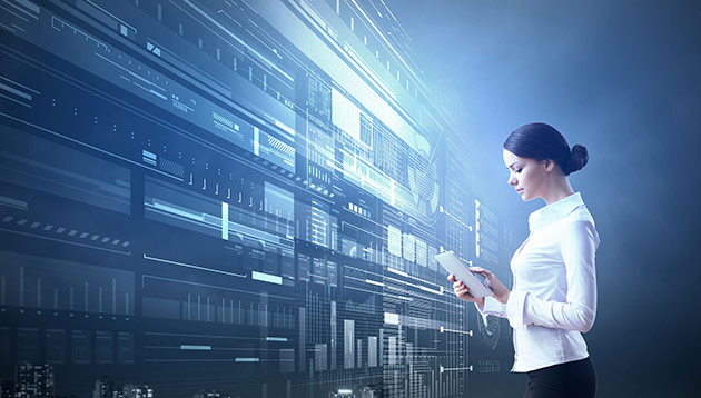 woman in technology - 123RF