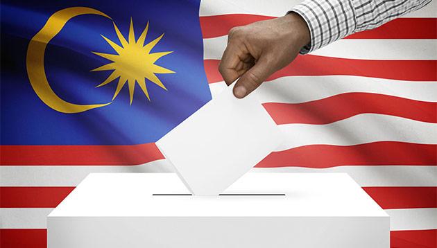 Malaysia voting