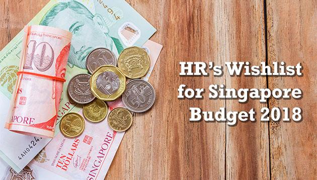 Singapore Budget 2018 Wishlist