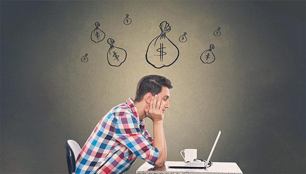 man worried about money - iStock