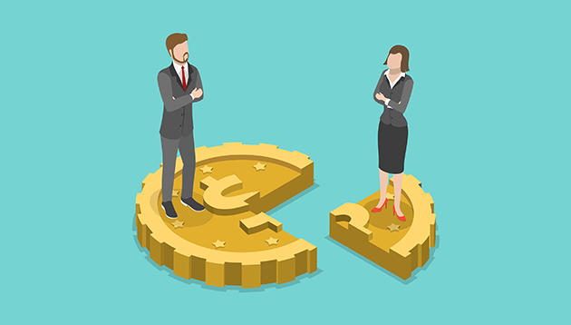 gender pay gap - 123RF