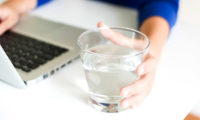 businessperson-drinking-water-123RF