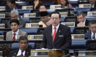 Lim-Guan-Eng-2020-budget-reading-Ministry of Finance Facebook