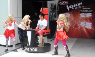 AXN The Voice pop up performances
