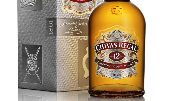 LOOK Chivas Regal redesigns its bottles and packaging