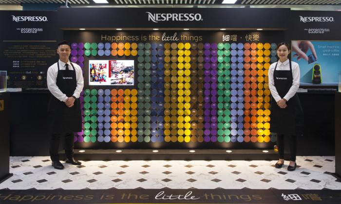 Nespresso Mini Coffee Machine Campaign Celebrates Little