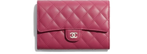 classic-small-flap-wallet-pink-lambskin-silver-tone-metal-packshot-default-a84403y014805b309-8805010407454