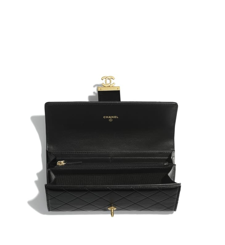flap-wallet-black-shiny-lambskin-gold-tone-metal-packshot-other-a81456y3339494305-8807142490142