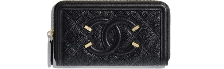 small-zipped-wallet-black-grained-calfskin-calfskin-gold-tone-metal-packshot-default-a84446y6054294305-8805002379294