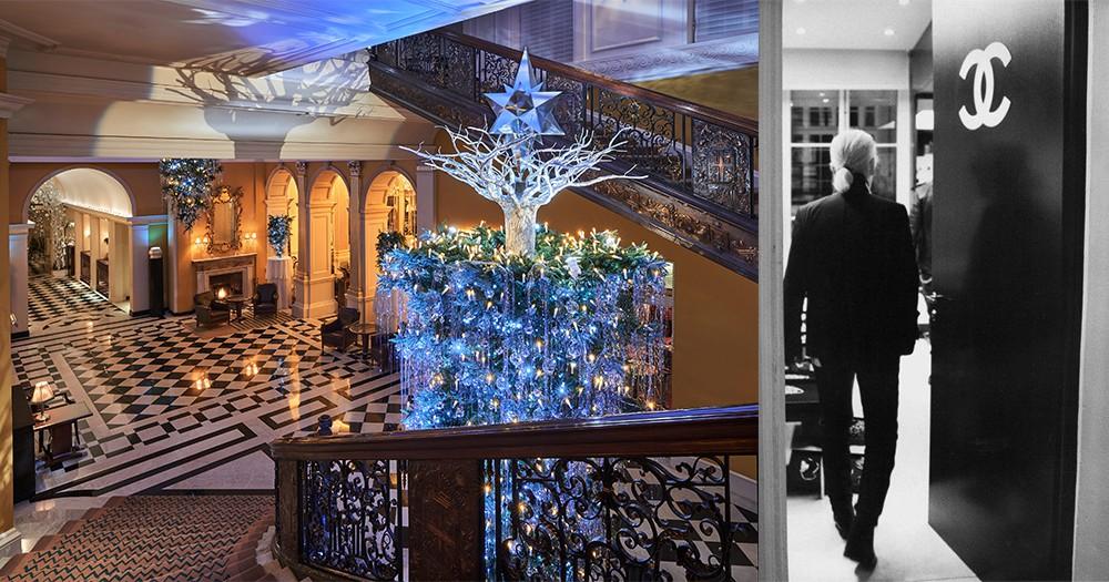 去倫敦Claridge's Hotel,一睹老佛爺Karl Lagerfeld聖誕童年回憶!