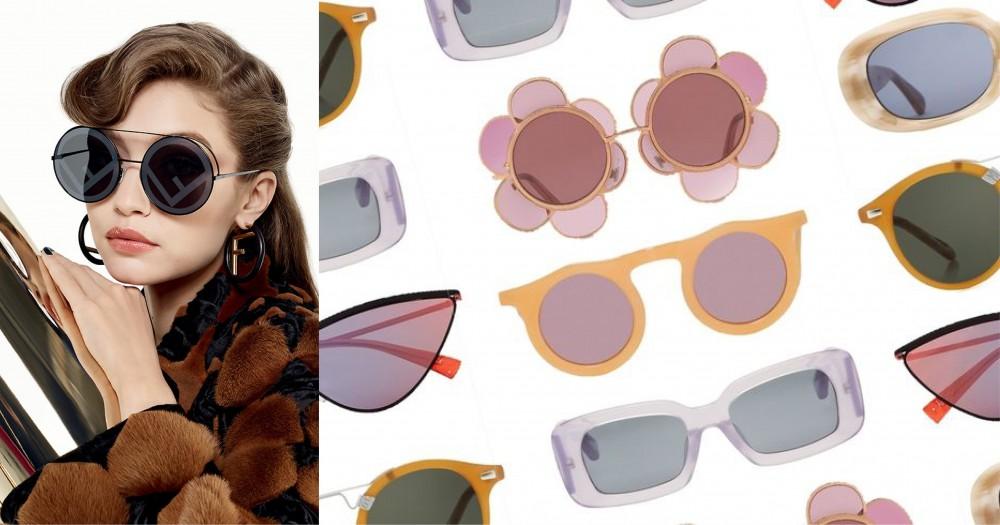 打破冬日沈悶:戴上這些太陽鏡令你的穿著變得更有趣!