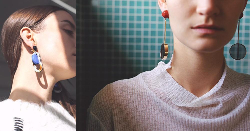 不能沒有的耳環:只要有它,隨便穿上T-Shirt都能有格調地出門