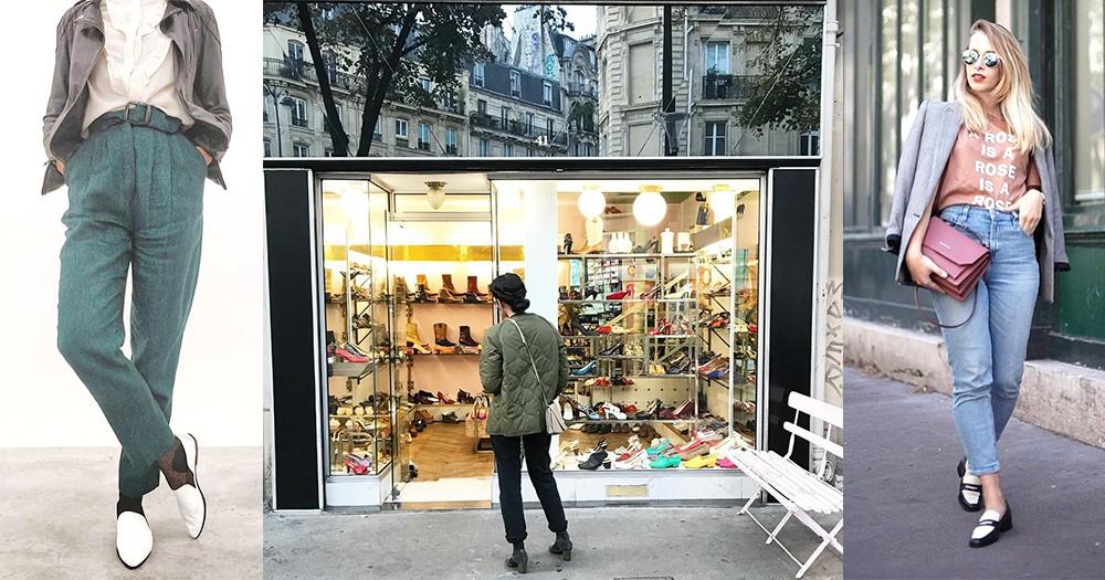 Vintage迷去巴黎尋寶吧!巴黎小店裡放滿的,都是法國和意大利製的高質Vintage鞋
