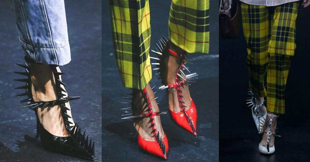穿起這雙Balenciaga的高跟鞋,你真可以成為一個冷艷女皇!