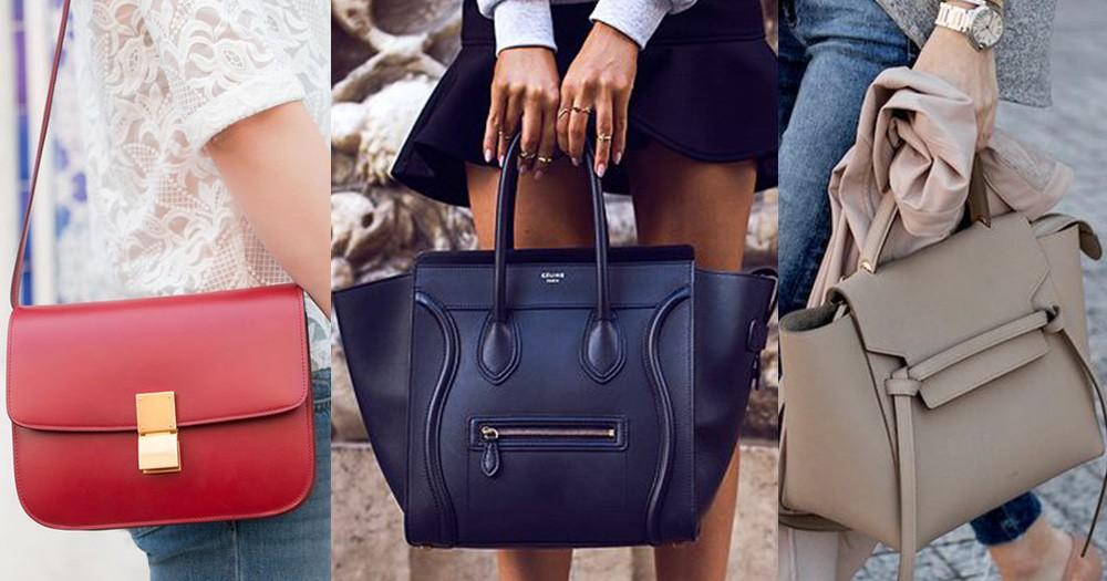 回顧Phoebe Philo設計下Céline的4大經典手袋,每個都是瑰寶!
