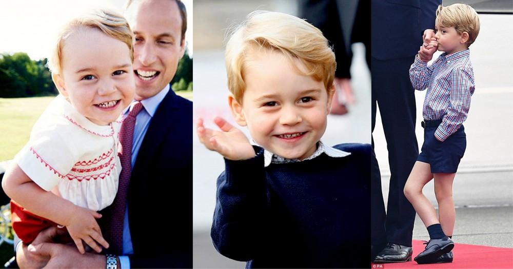 急不及待要做英國國王?原來喬治王子最喜歡的電影是⋯⋯