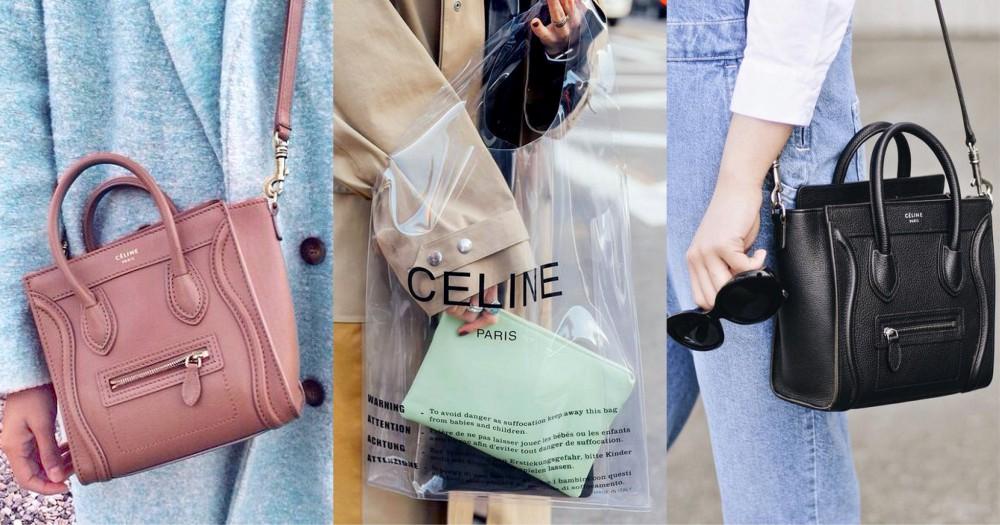 Céline 迷終於望穿秋水!你們現在可以在網上買到 Céline 的手袋了!