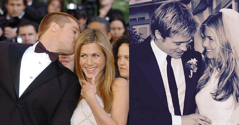「說起前度,永遠都是想見又不敢見」Brad Pitt和Jennifer Aniston不約而同單身了,重聚是續章的開始嗎?