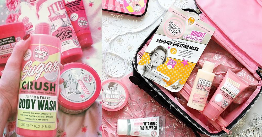 粉紅色控的銀包註定失守!Soap & Glory的產品為你留下甜蜜香味回憶!