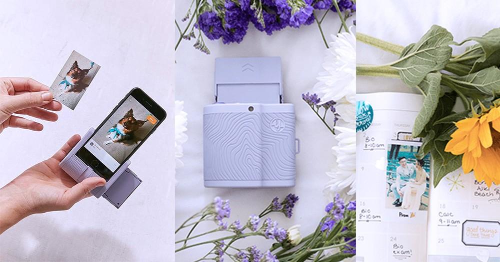 哈利波特神奇照片 ?Prynt Pocket 全新配色讓你浪漫拍出有動感的「即影即有」!