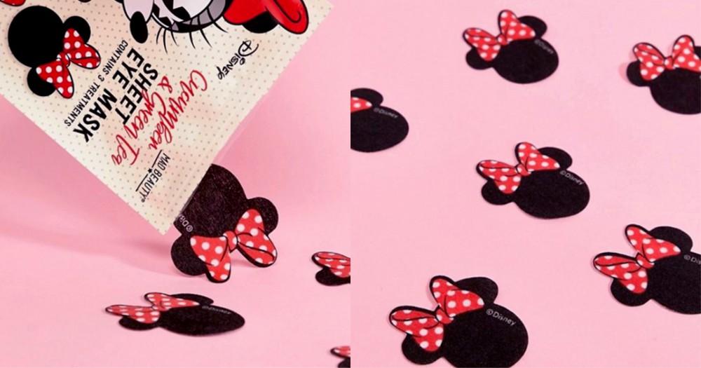 敷出效果更要敷出可愛:Mad Beauty 推出迪士尼米妮眼膜!
