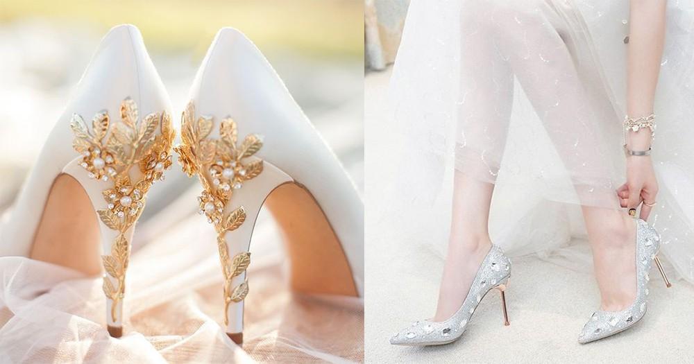 穿上夢想中的婚鞋嫁給你,成就我這輩子最幸福的時刻!