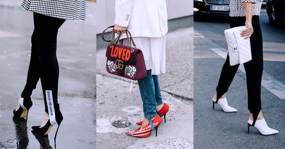 春天來了:每人都為初春作準備,你來個的小細節穿上特別「踩腳褲」跟貼時尚!