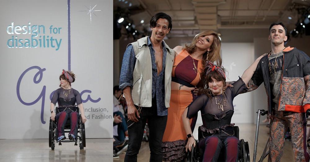 Design For Disability:因為當中的不完美,卻成就了一場感動人心最完美的時裝秀!