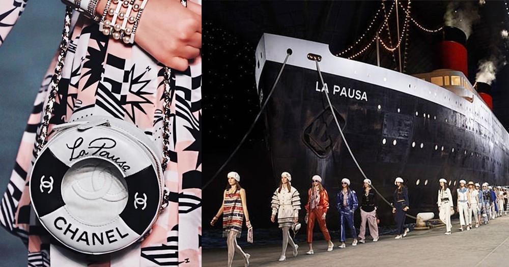 這是老佛爺為各女生準備的假期!Chanel Cruise 2018/19帶你登上香奈兒最夢幻的郵輪!