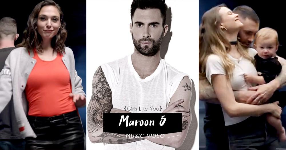 從著名運動員、歌手演員、荷理活巨星到名模妻子:Maroon 5 新MV眾星雲集!