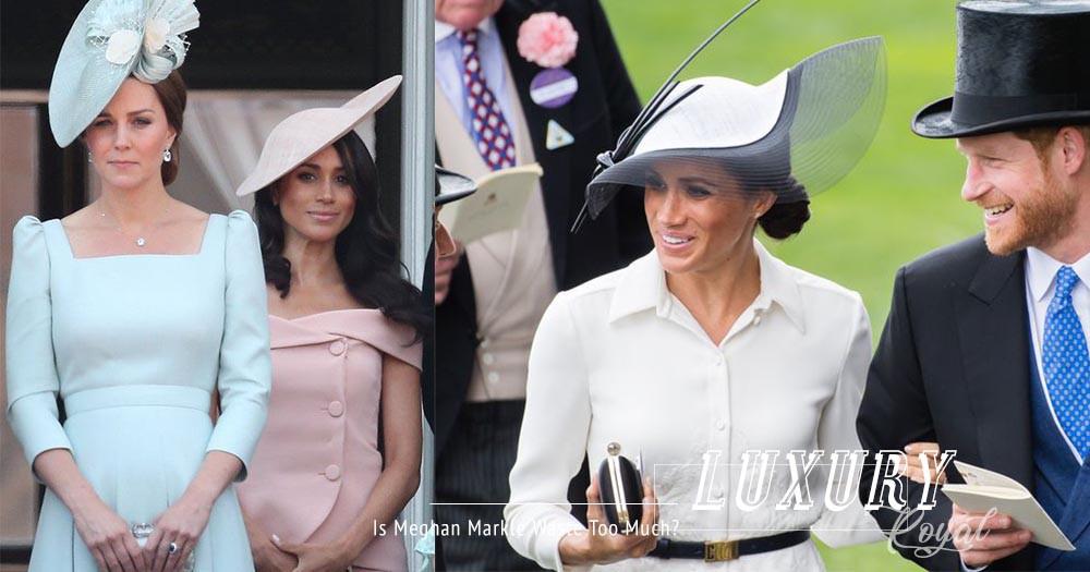 女人最愛揮霍?Meghan Markle買衫花費,比Kate Middleton一年花費更多!