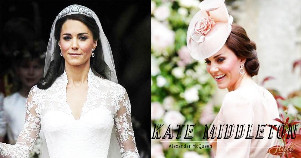 Kate Middleton 獨愛 Alexander McQueen!重要場合就只會穿它別無其他!