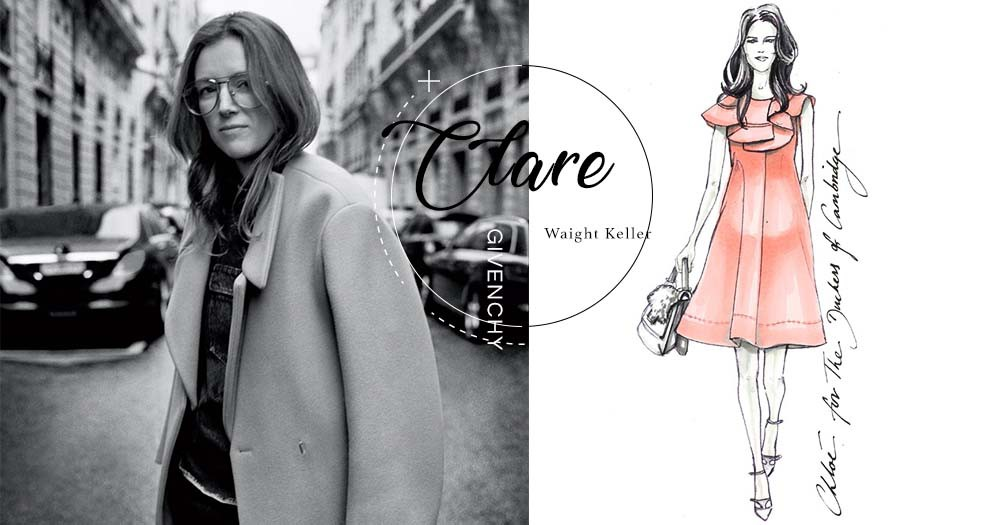 Givenchy創意總監Clare Waight Keller鮮為人知的故事:品牌史上首位女總監、同時是3位孩子的母親!
