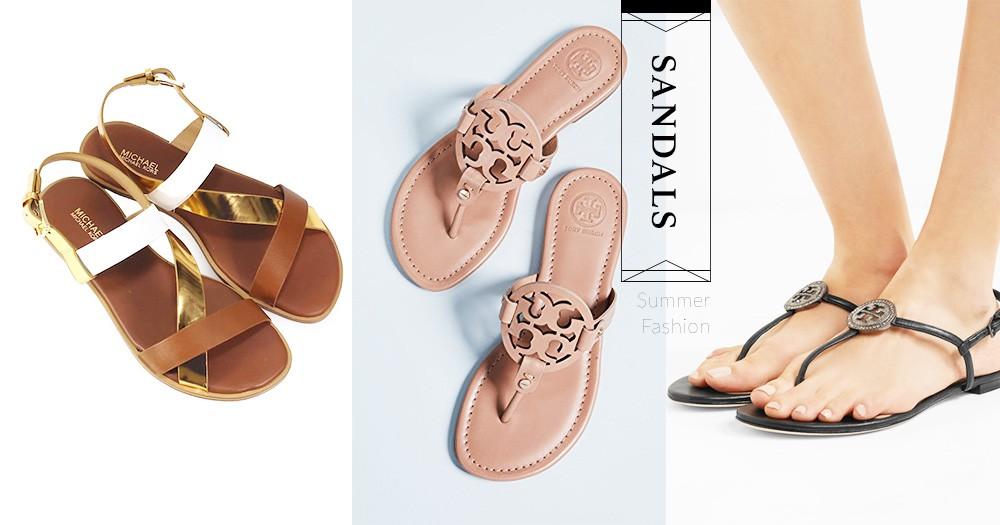 夏天就是要穿涼鞋!簡約款就是佛系女生的最愛,易襯百搭又好看!