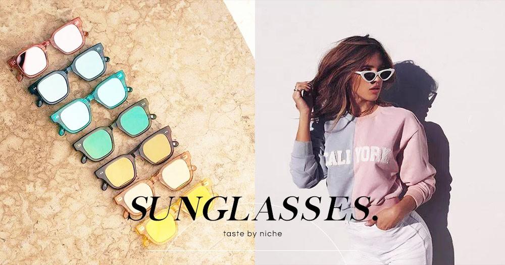「不再只有Ray Ban或Gentle Monster!」這些小眾太陽眼鏡品牌你要知道,靠它們時尚、易襯、不撞款!