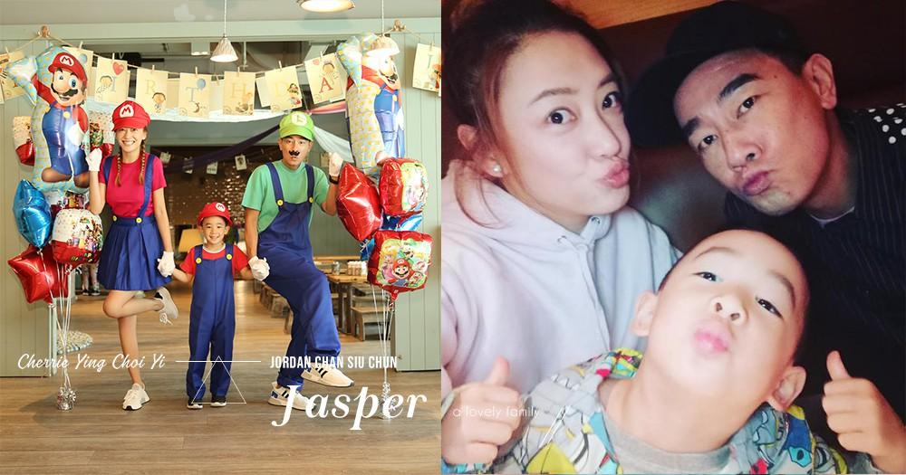 Jasper終於可以和媽媽一起出演了:Jasper現身《妻子的浪漫旅行》,陳小春大放閃光彈!