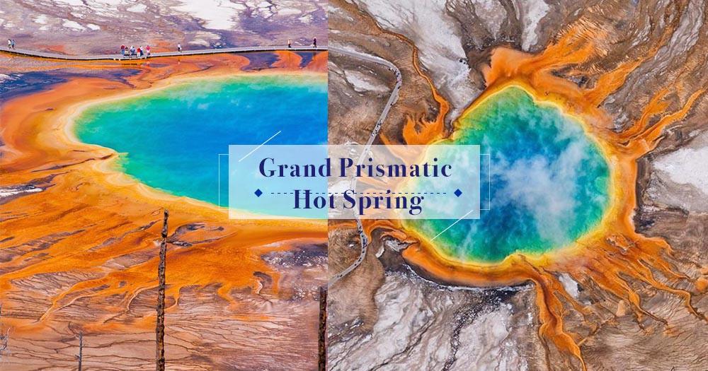 震撼眼睛的景觀:美國大稜鏡溫泉,讓你由衷讚嘆大自然的魅力!