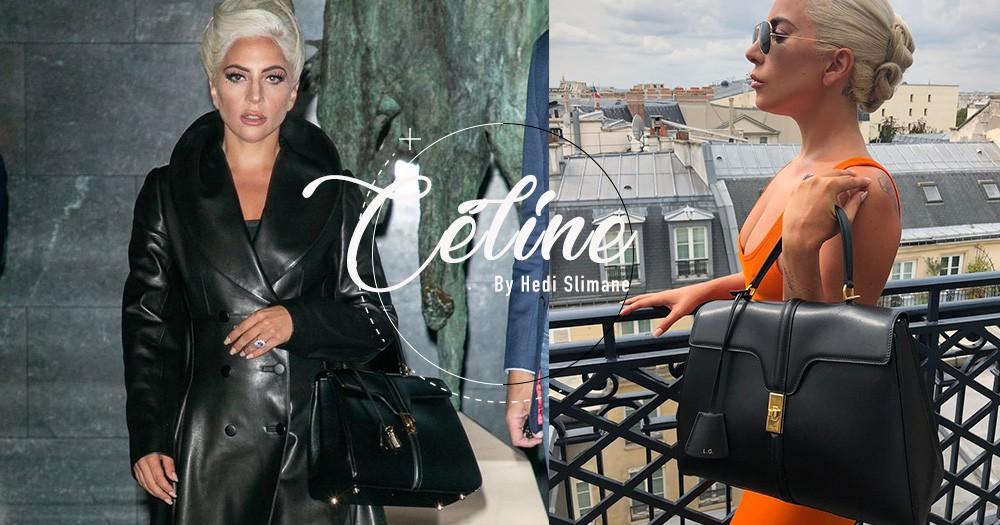 Céline新時代降臨!Hedi Slimane找來Lady Gaga為他加入品牌後首款手袋造勢!
