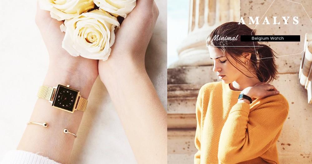 比利時新晉腕錶品牌:AMALYS 設計簡約又清新,深受歐洲文青喜愛,外表脫俗實在太吸晴!