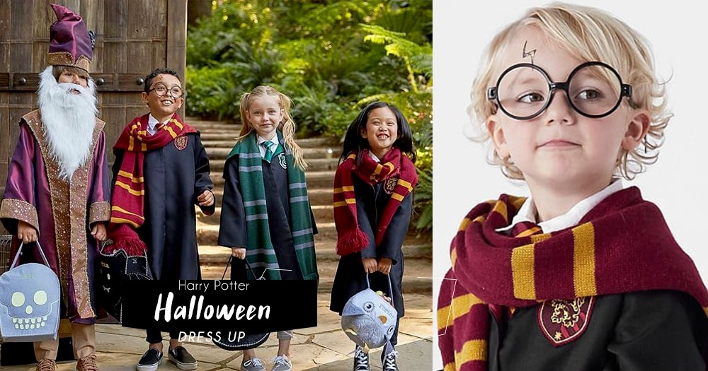 到處都是詭修女?用魔法抵擋黑暗,今年萬聖節與孩子扮成《哈利波特》的角色吧!
