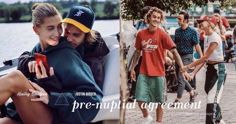 「當一個男人真正愛你,金錢根本不算什麼」Justin Bieber堅決不簽婚前協議書,因為根本沒想過離婚!
