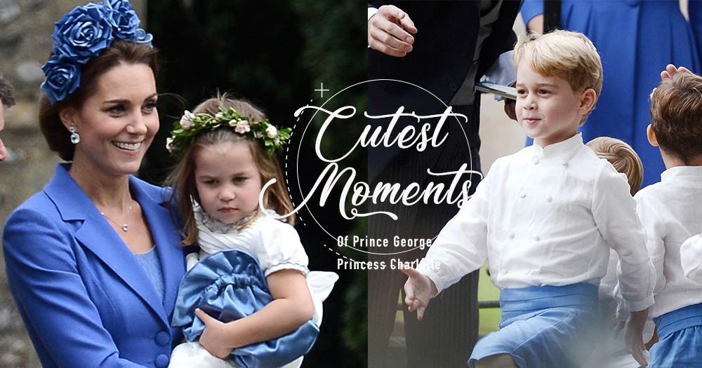 再度擔任花童!喬治王子和夏洛特公主出席Kate Middleton閨蜜的婚禮,盡現可愛模樣!
