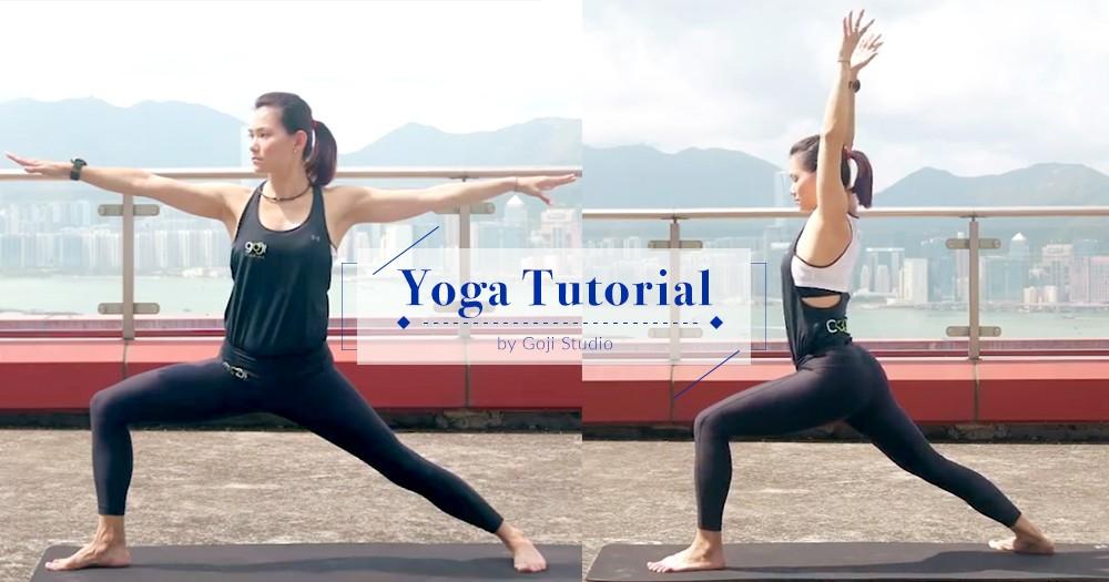 「瑜珈,就是身心靈合一」專業導師教授5分鐘修身健康瑜珈,減壓又助好眠!