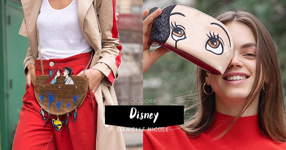 迪士尼經典動畫,新推多款可愛手袋:將公主「大頭」手袋揹上身吧,配角奸角都有份呢!