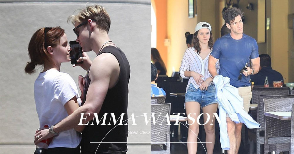 Emma Watson真的和Chord Overstreet分手了,被拍到在墨西哥與CEO新男友擁吻