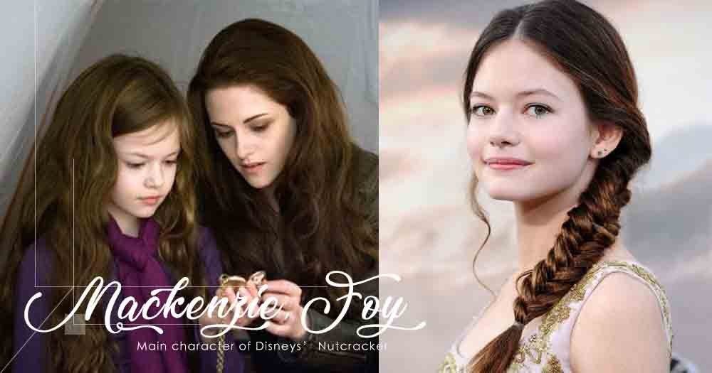 《Twilight》Bella的女兒Mackenzie Foy愈大愈美,更擔正做《胡桃夾子》女主角!