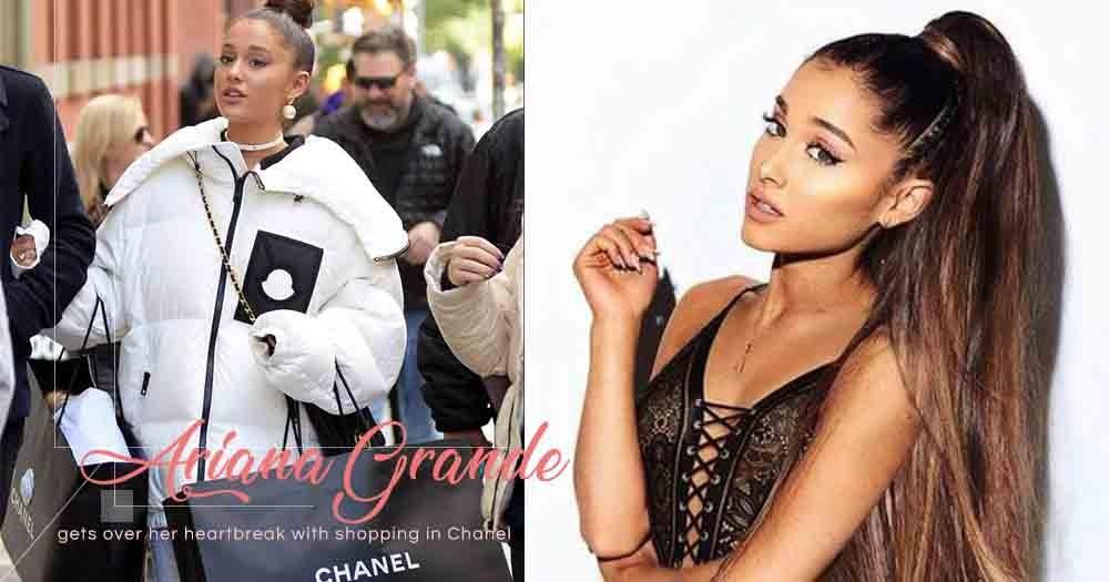 購物可以治療一切!Ariana Grande分手後首度現身,就是前往Chanel血拼!